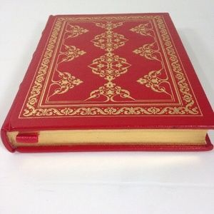 Franklin Library Red Leather Book Jane Addams
